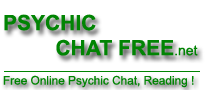 Free Online Psychic Chat, Psychic Readings